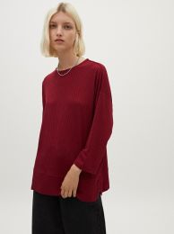 T-Shirt With Round Collar 185411