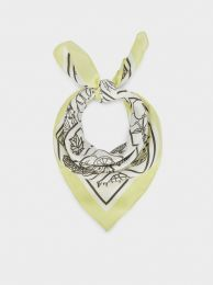 Printed Square Neckerchief Made From Recycled Materials 189090