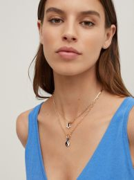 Set Of Necklaces With Charms And Zirconia 189862