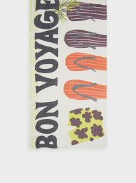 Printed Scarf Made From Recycled Materials 189964